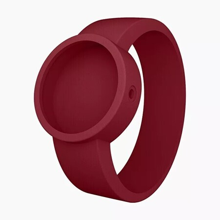 O clock strap ruby red