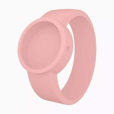 O clock strap powder pink