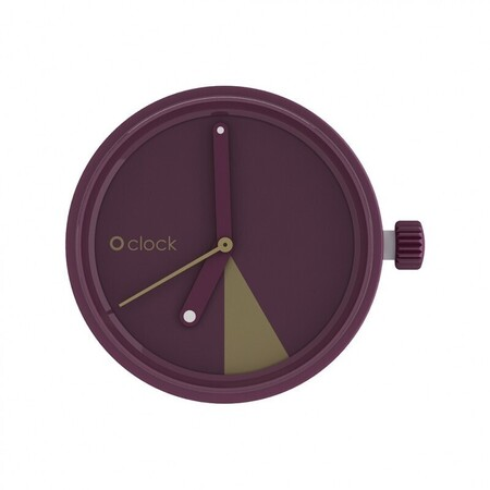 O clock dial slice bordeaux
