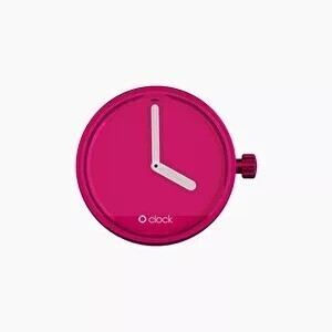 O clock dial mirror amaranth