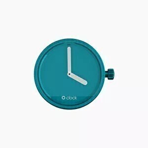 O clock dial mirror turquoise