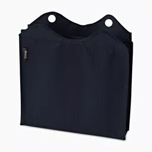 O bag square innerbag canvas navy blue