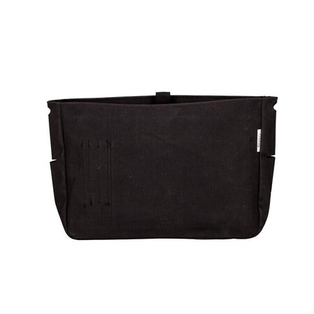 O bag folder innerbag canvas black